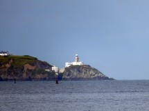 The view across the bay to Howth.