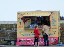 Teddy's Ice Cream on Dun Laoghaire Pier