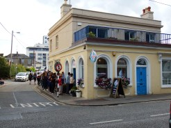 Scrumdiddly's Ice Cream Queue Dun Laoghaire